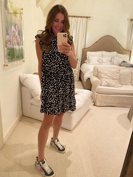 Kelsey Dress in Black