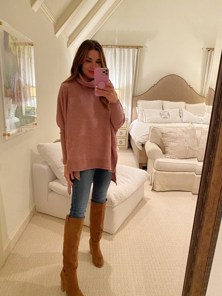Ainsley Sweater in Rose