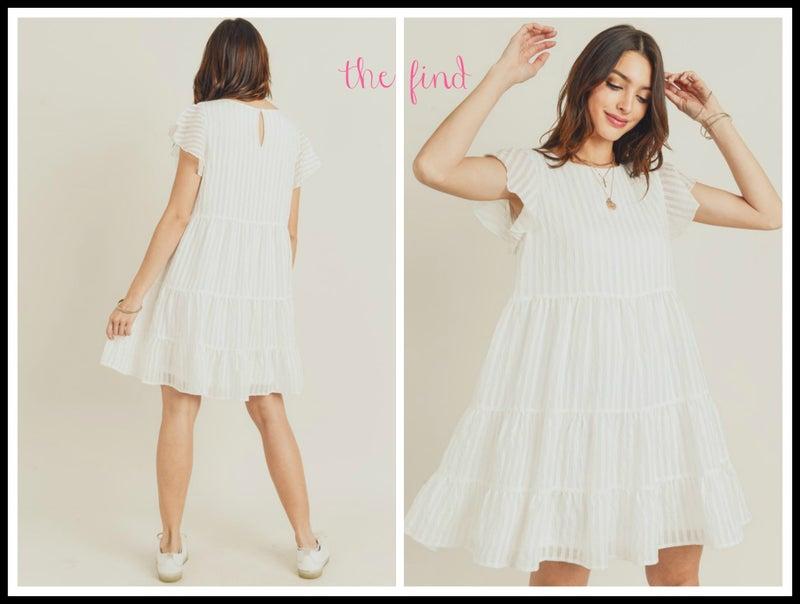 Cara Dress in White *Final Sale*