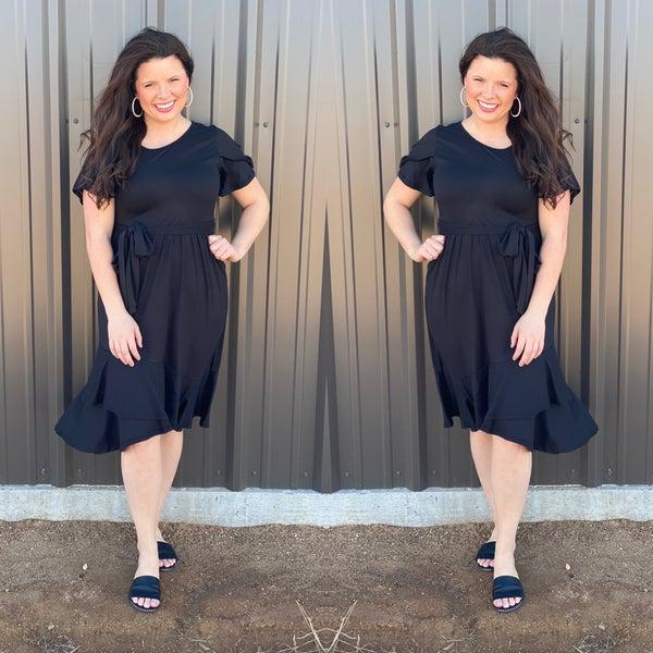 RJ Black Dress *Final Sale*