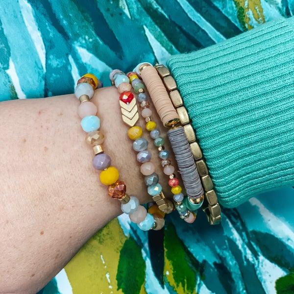 Avant Pastel Set of 5 Bracelets