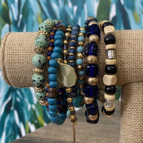 India Waters Bracelet Set