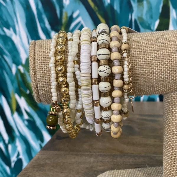 BOHO Wedding Bracelet Set