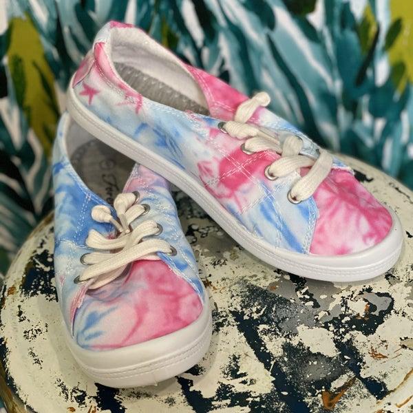 Forever Pink Tie Dye Sneakers