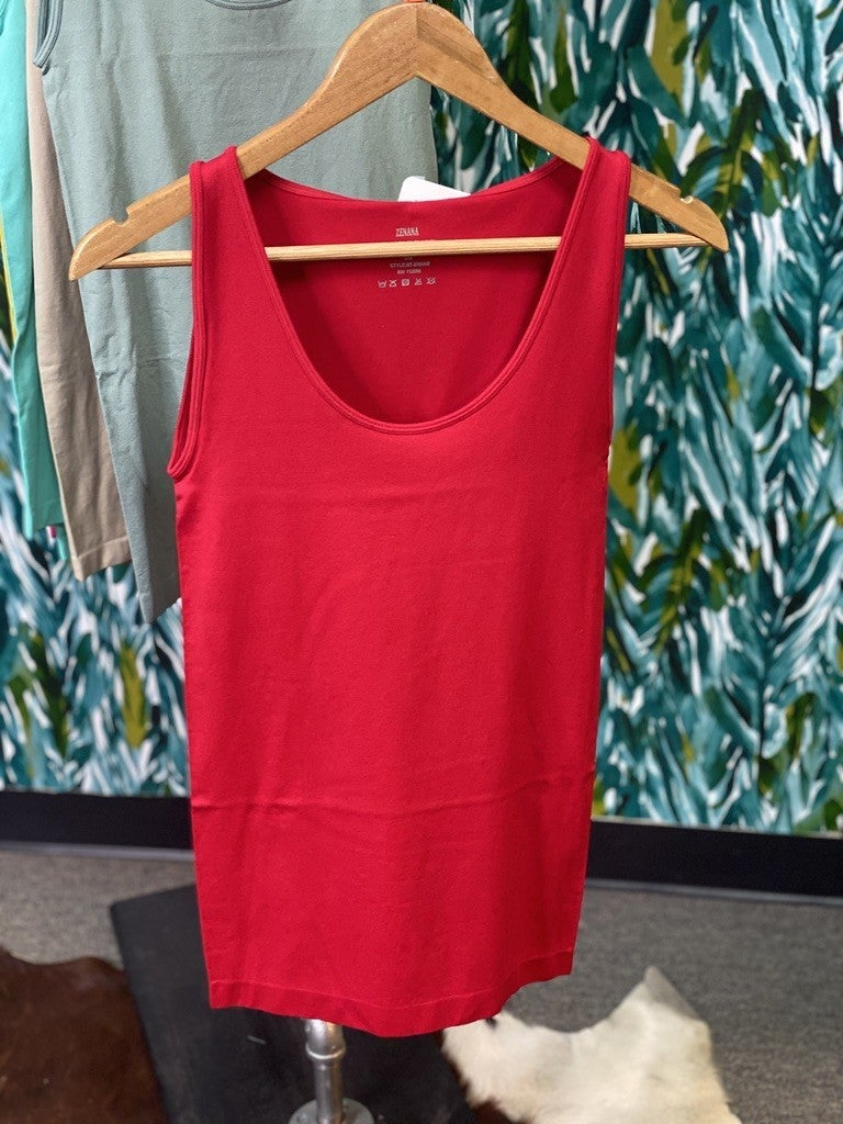 Reg/Plus Zenana Red Miracle Tank