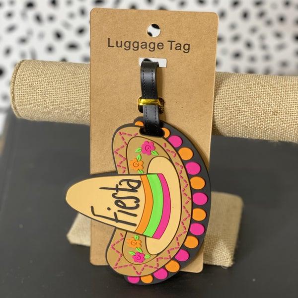 Fiesta Luggage Tag
