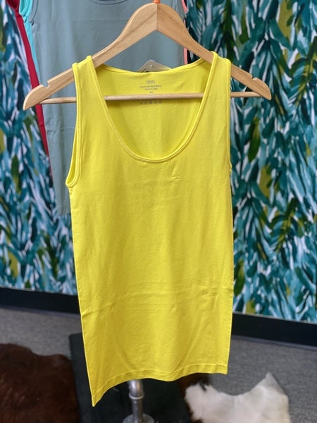 Reg/Plus Zenana Yellow Miracle Tank