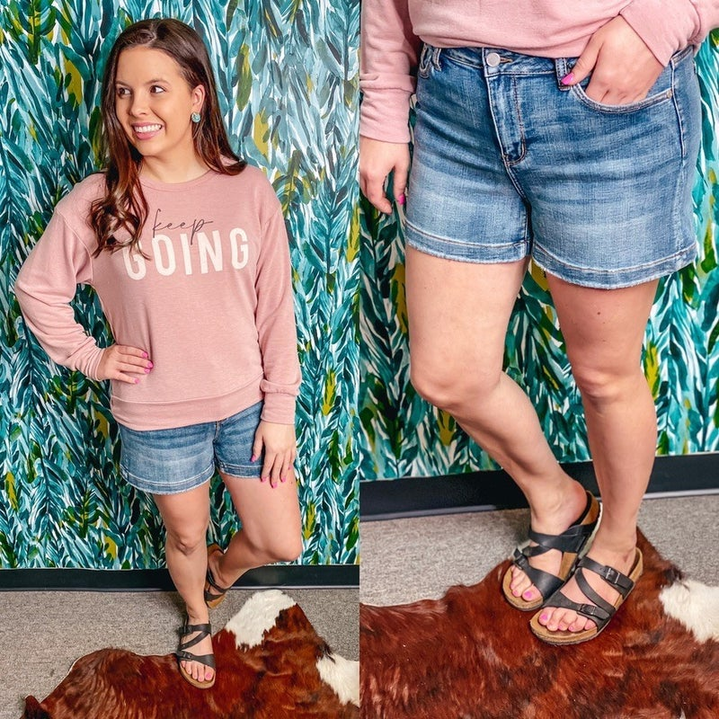 Reg/Plus Judy Blue High Waisted Shorts