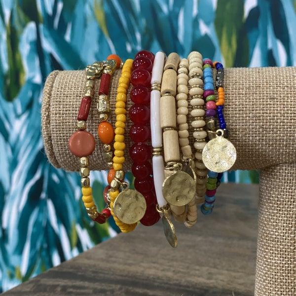 Boho & Sunshine Bracelet Set