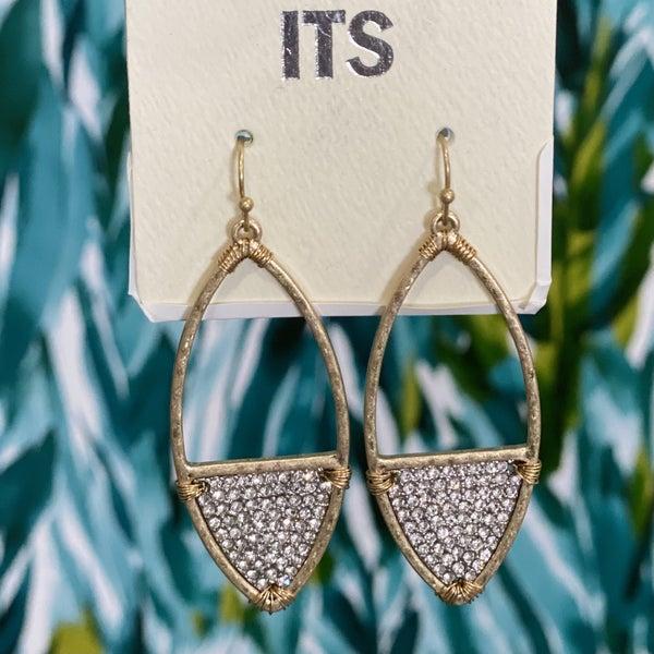 Diamond Surf Earrings