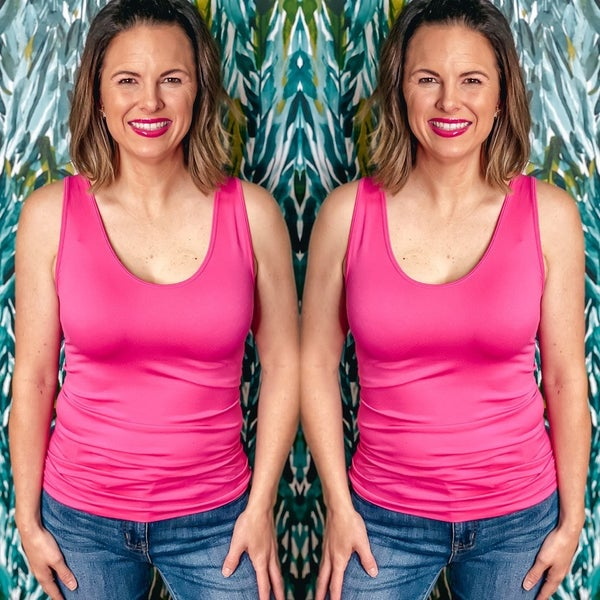 Zenana Hot Pink Miracle Tank