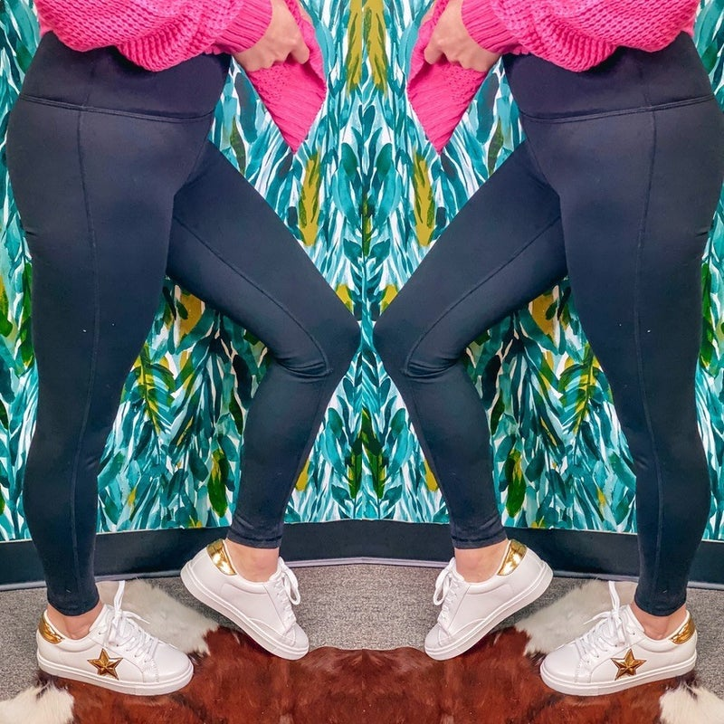 Mono B Thermal Brushed High Waisted Leggings *Final Sale*