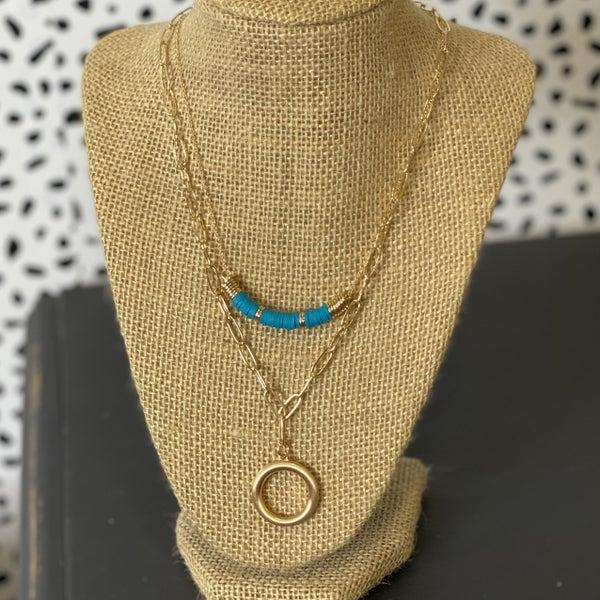 Double Removable Necklace Set