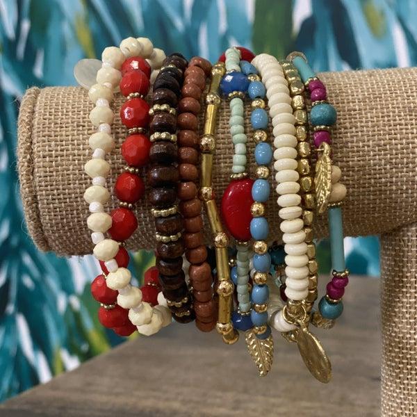 Tribal Boho Bracelet Set