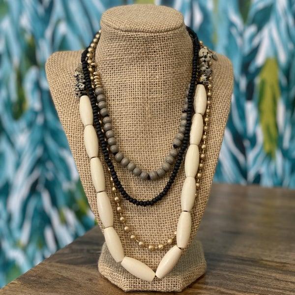 Boho Layered Necklace