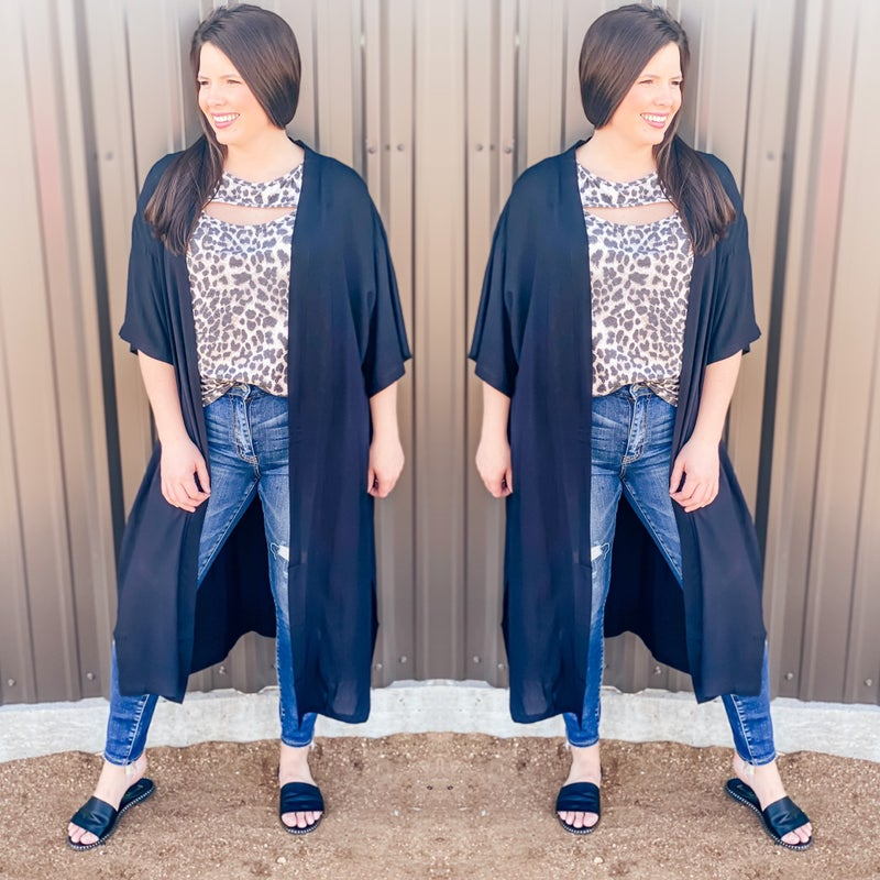 S&R One Size Black Duster