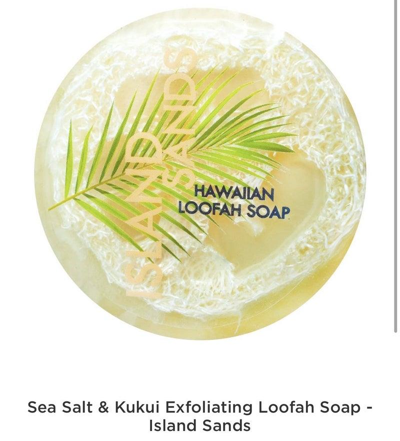 EXFOLIATING HAWAIIAN LOOFAH SOAP