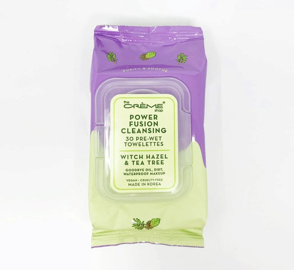 POWER FUSION CLEANSING TOWELETTES