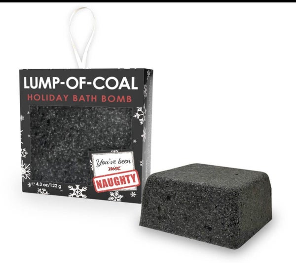 LUMP OF COAL HOLIDAY BATH BOMB
