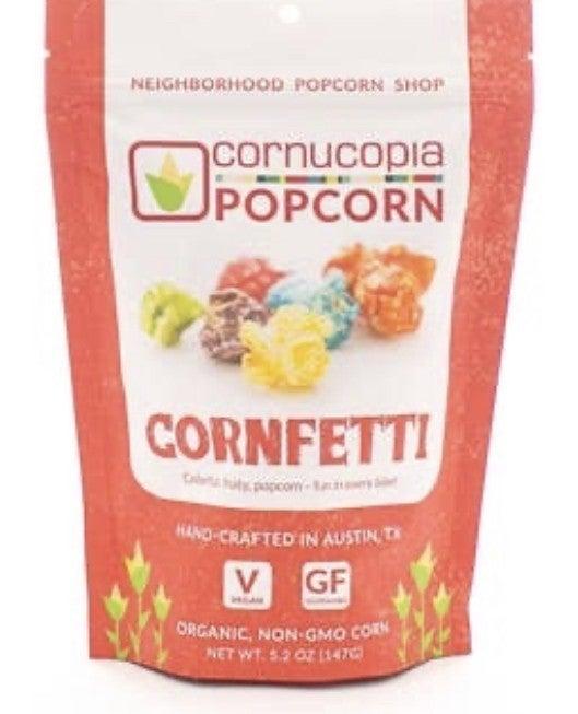 CORNUCOPIA GOURMET POPCORN