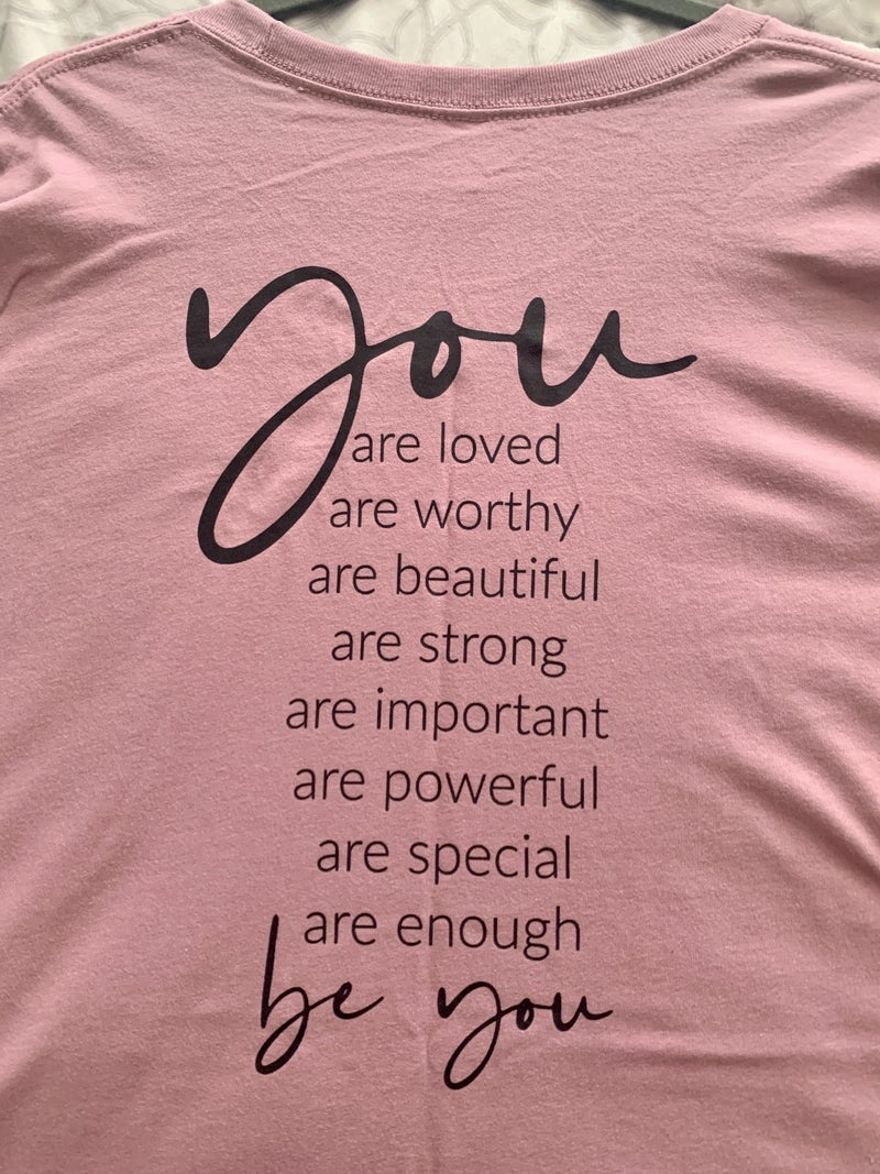BE YOU GRAPHIC TEE