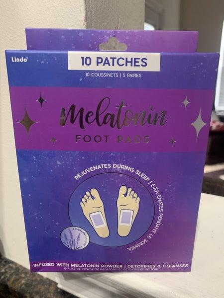 MELATONIN DETOXIFYING FOOT PADS