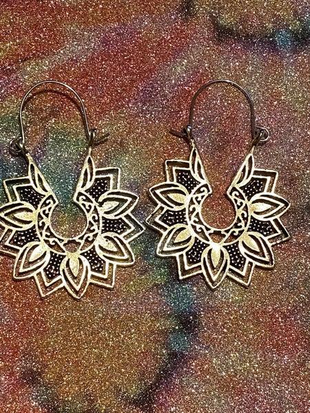 FLOWER PETAL BOHO EARRINGS