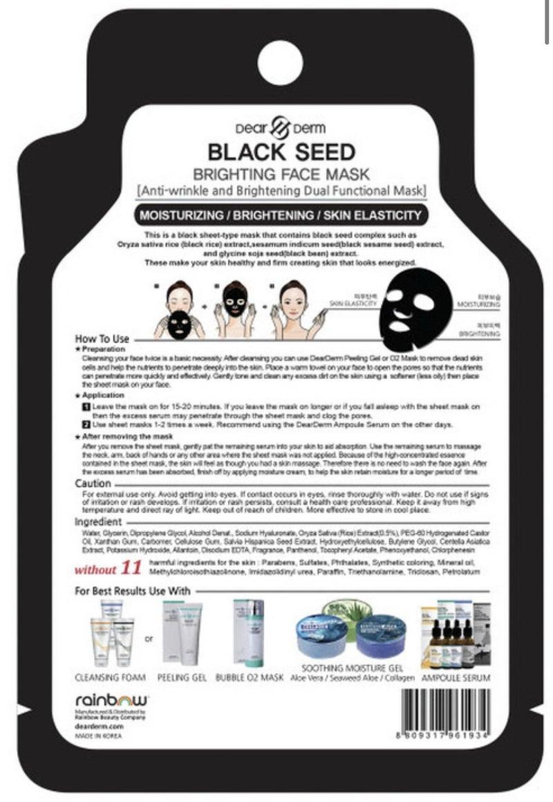BLACK SHEET MASK