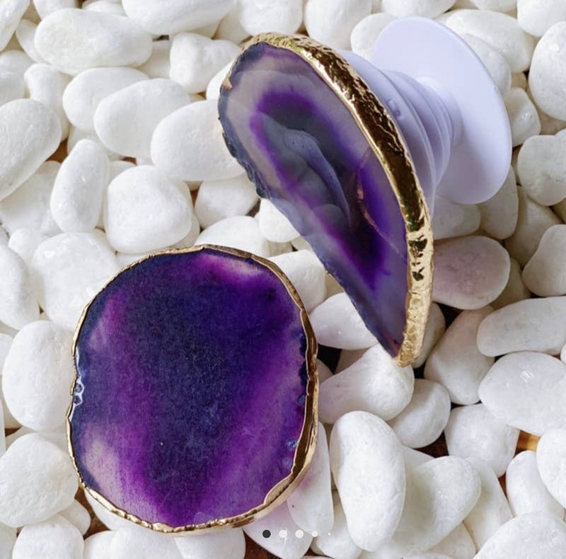 BEAUTY OF NATURE STONE PHONE GRIPS