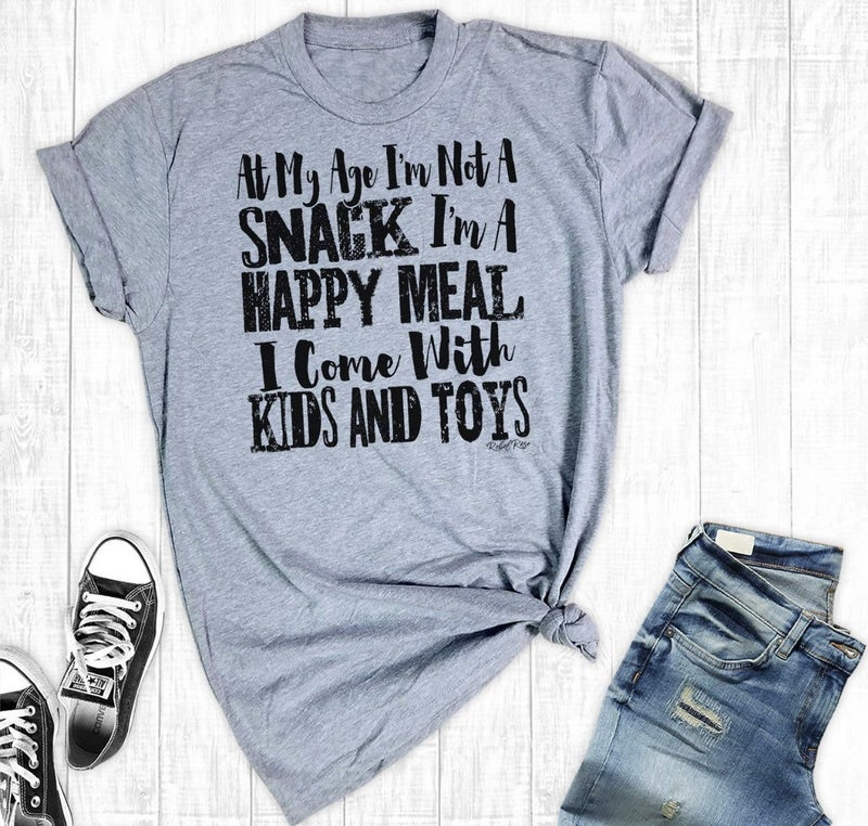 HAPPY MEAL GRAPHIC TEE SHIRT
