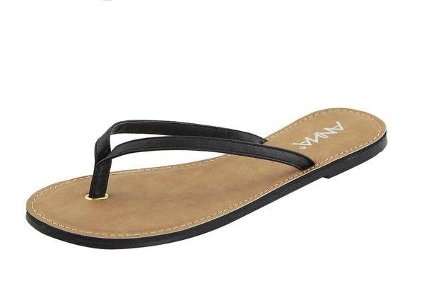 Simply Sassy Sandal - Black *Final Sale*