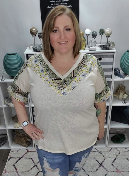 Call Me A Little Rae Of Sunshine Boho Top