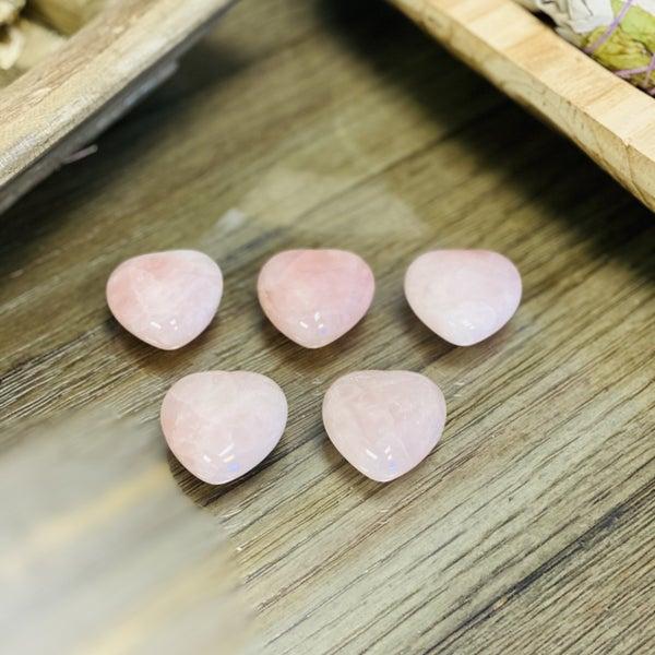 Rose Quartz Heart Medium