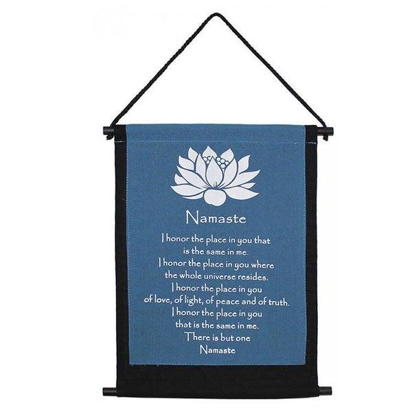Namaste Lotus Banner