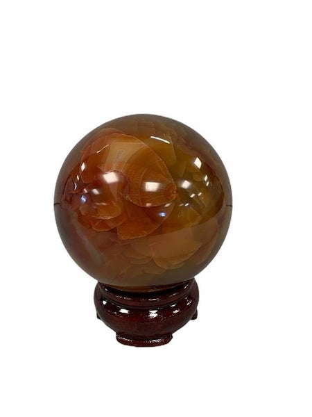 Carnelian Sphere - #1