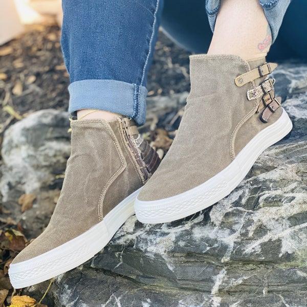 Blowfish Kayla whisky hipster shoe
