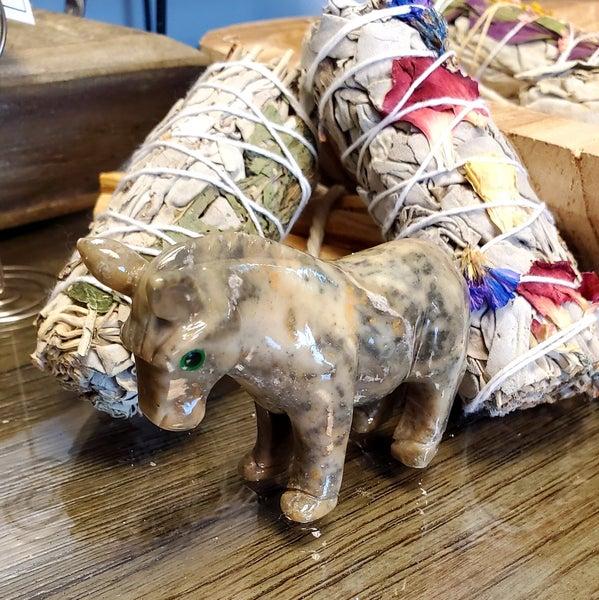 Jasper Donkey Carving