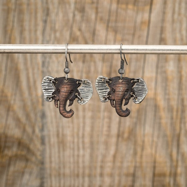 Hathi Elephant Earrings