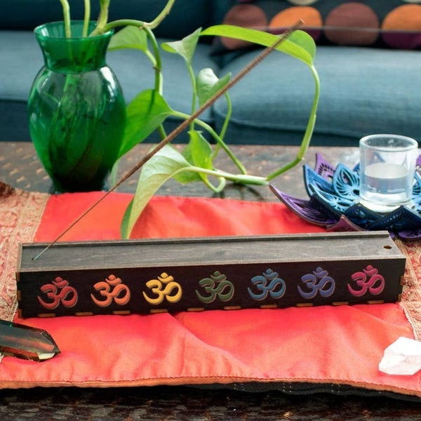 Om Full Color Stick Incense Box