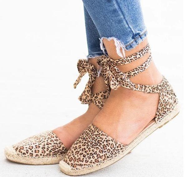 Sassy Leopard Sandal *Final Sale*