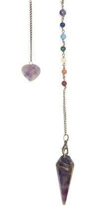 Premium Amethyst Chakra Pendulum