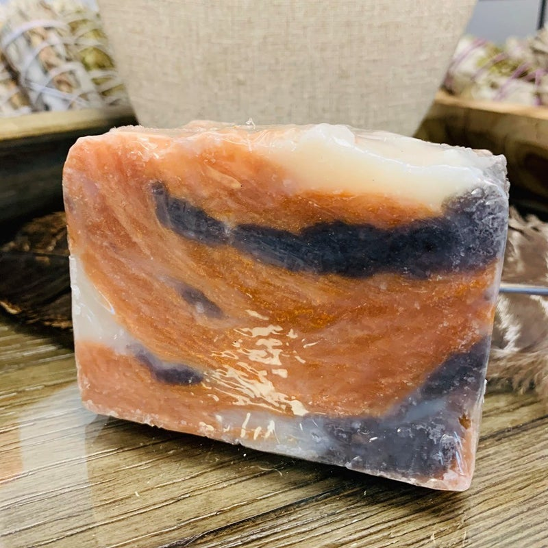 Crazy Lace Agate Inspired Soap
