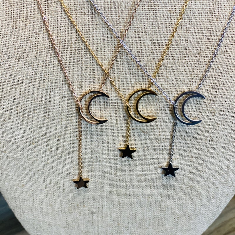 Chasing The Moon Necklace