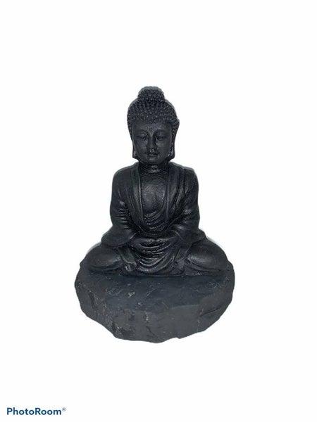 Shungite Buddha
