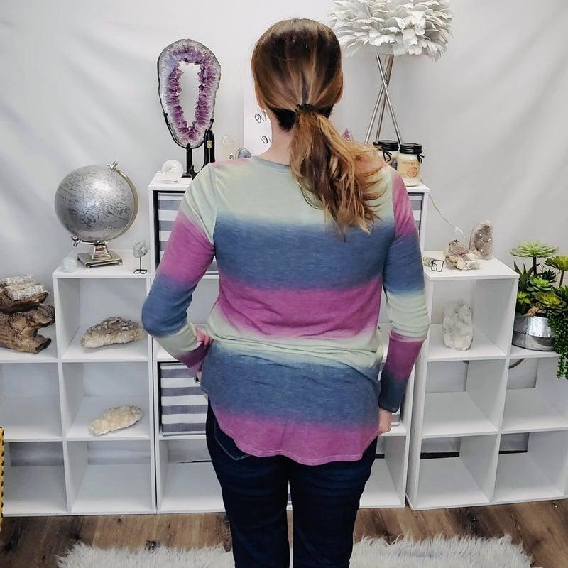 Sherbet Stripe Top