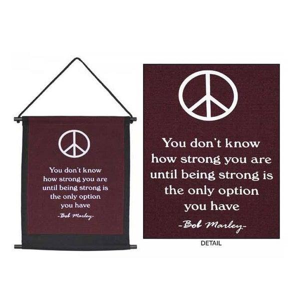 Peace Banner Bob Marley
