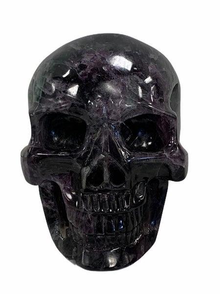 Rainbow Fluorite Skull 2.88 kg