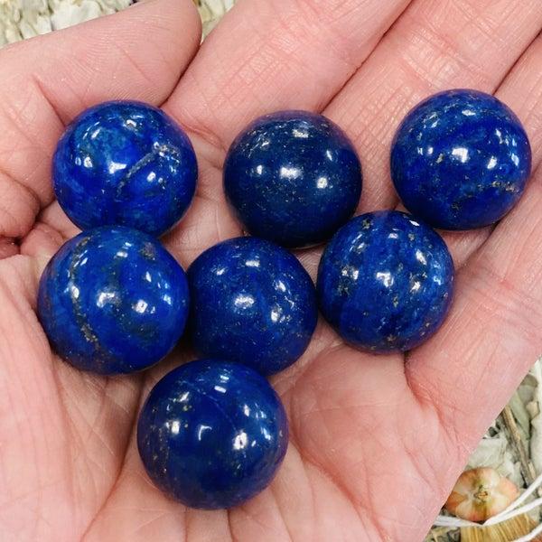 Lapis Luzuli Mini Spheres