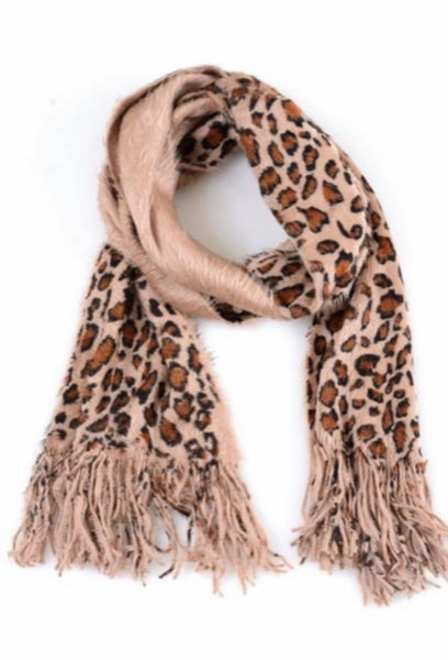 Cheetah Oblong Scarf