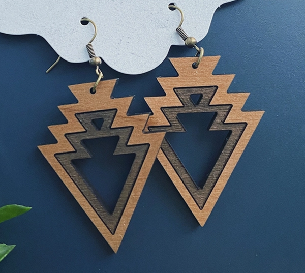 Aztec Arrow Earrings